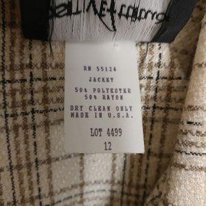 Positive Attitude Jackets & Coats - NWT positive attitude plaid jacket size 12